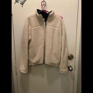 Thread & supply Sherpa sweater